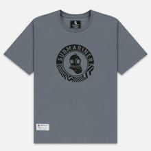 Мужская футболка Submariner Mine Logo Print Grey фото- 0