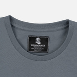 Мужская футболка Submariner Mine Logo Print Grey фото- 1