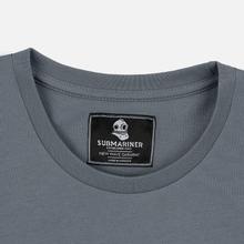 Мужская футболка Submariner Mine Logo Print Grey фото- 1