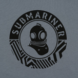 Мужская футболка Submariner Mine Logo Print Grey фото- 2