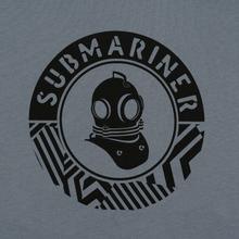 Мужская футболка Submariner Mine Logo Print Grey фото- 2