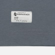 Мужская футболка Submariner Mine Logo Print Grey фото- 3