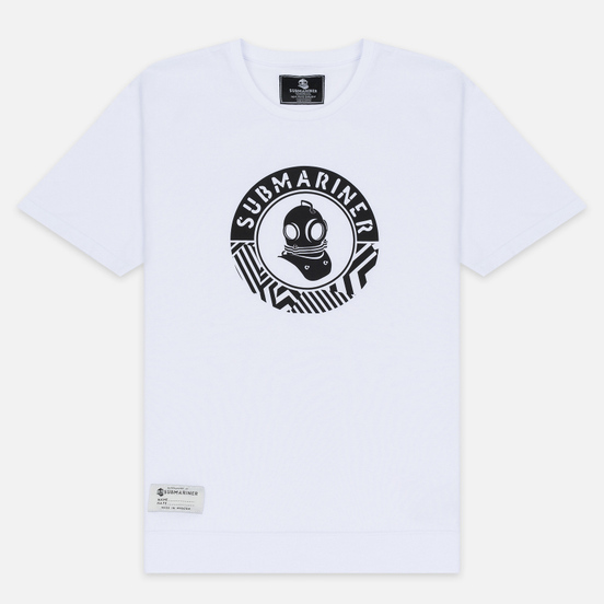 Мужская футболка Submariner Main Logo Print White