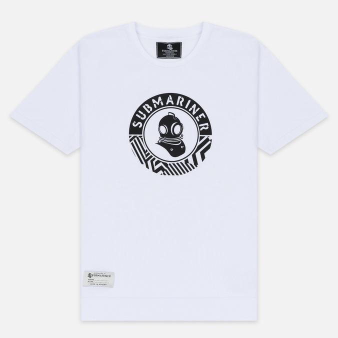 Мужская футболка Submariner Mine Logo Print White