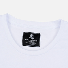 Мужская футболка Submariner Mine Logo Print White фото- 1