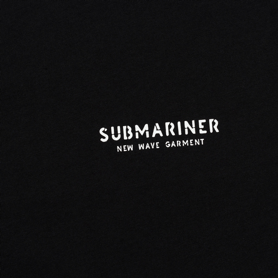 Мужская футболка Submariner New Wave Dazzle Black