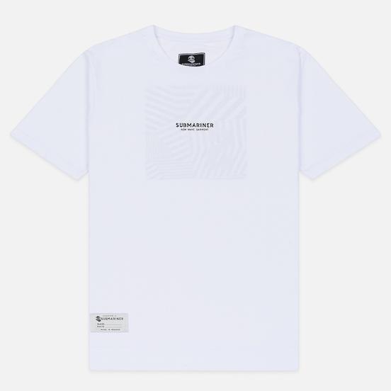 Мужская футболка Submariner New Wave Dazzle White