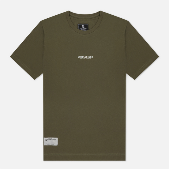 Мужская футболка Submariner New Wave Khaki