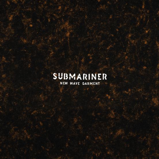 Мужская футболка Submariner New Wave Logo Rusty