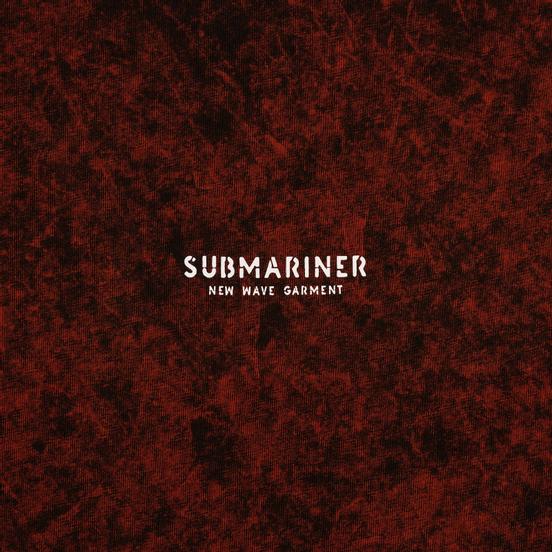Мужская футболка Submariner New Wave Logo Rusty Red