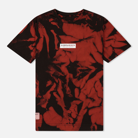Мужская футболка Submariner Night Glow Logo Camo Red/Black