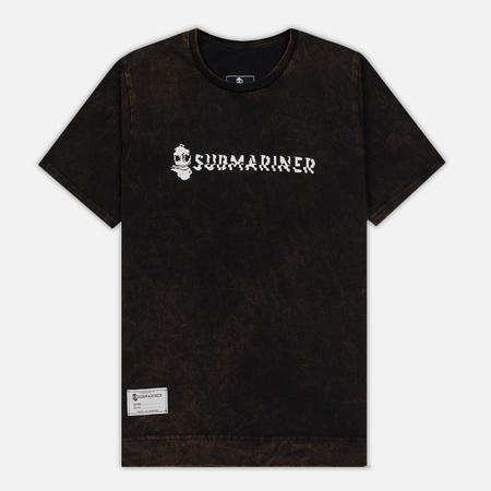 Мужская футболка Submariner Rusty 8 Bit Basic Logo Black