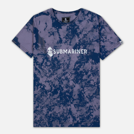 Мужская футболка Submariner x BRANDSHOP Acid Camo Purple Blue