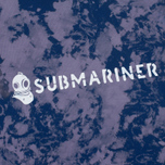 Мужская футболка Submariner x BRANDSHOP Acid Camo Purple Blue фото- 3