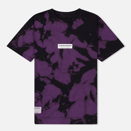 Мужская футболка Submariner x BRANDSHOP Night Glow Logo Camo Black/Purple