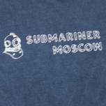 Мужская футболка Submariner x BRANDSHOP Noise Visual Logo Blue фото- 2