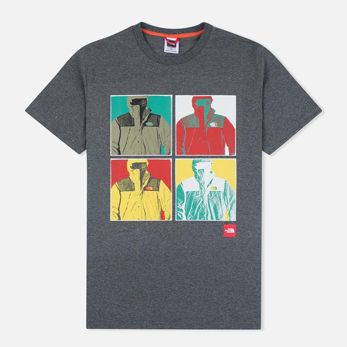Мужская футболка The North Face 1990 SS Grey Heather