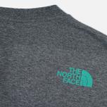 Мужская футболка The North Face 1990 SS Grey Heather фото- 3