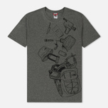 Мужская футболка The North Face Expedition Kit TNF Medium Grey фото- 0