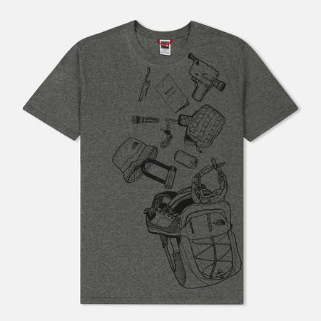 Мужская футболка The North Face Expedition Kit TNF Medium Grey