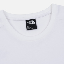 Мужская футболка The North Face Fine 2 TNF White Reflective/TNF Black фото- 1