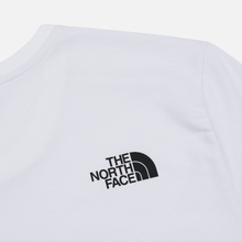 Мужская футболка The North Face Fine 2 TNF White Reflective/TNF Black фото- 3