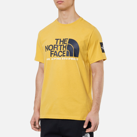 Мужская футболка The North Face Fine Alpine Equipment 2 Bamboo Yellow