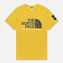 Мужская футболка The North Face Fine Alpine Equipment 2 Bamboo Yellow