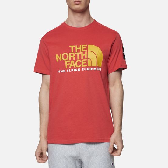Мужская футболка The North Face Fine Alpine Equipment 2 Sunbaked Red