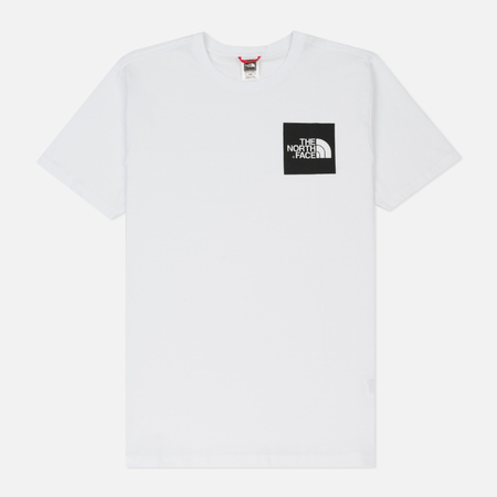 Мужская футболка The North Face Fine TNF White/TNF Black