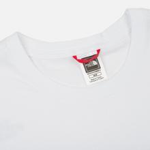 Мужская футболка The North Face Fine TNF White/TNF Black фото- 1