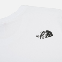 Мужская футболка The North Face Fine TNF White/TNF Black фото- 4