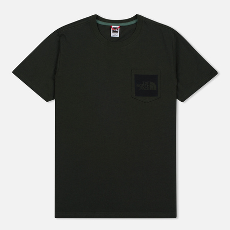 The North Face Fine Pocket Men's T-Shirt Rosin Green