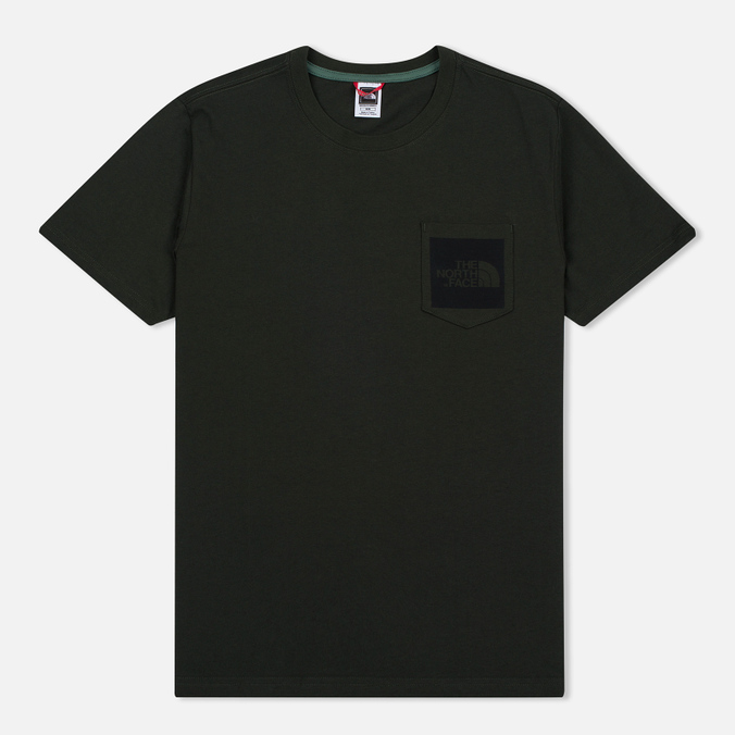 Мужская футболка The North Face Fine Pocket Rosin Green
