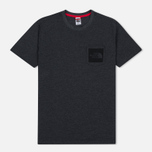 Мужская футболка The North Face Fine Pocket TNF Dark Grey Heather фото- 0