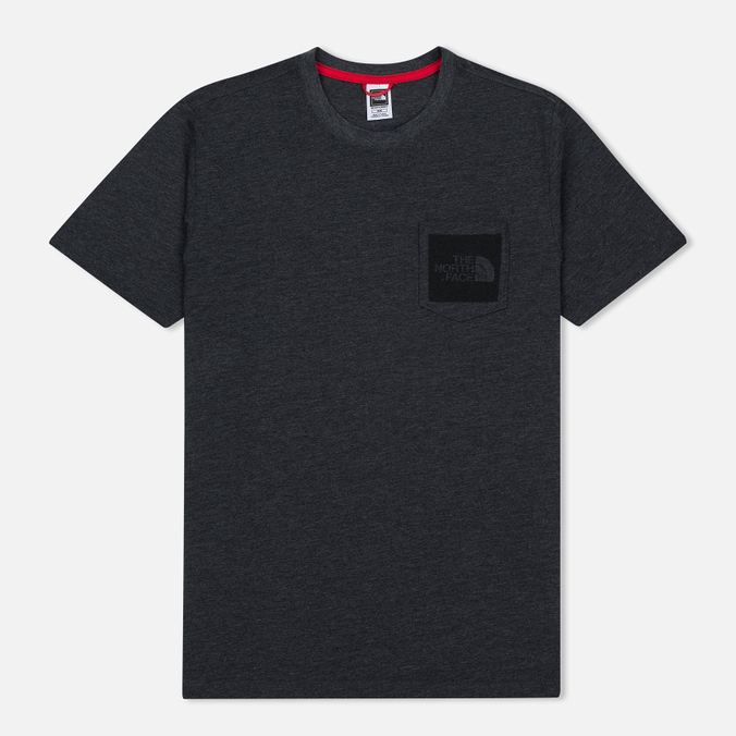 Мужская футболка The North Face Fine Pocket TNF Dark Grey Heather