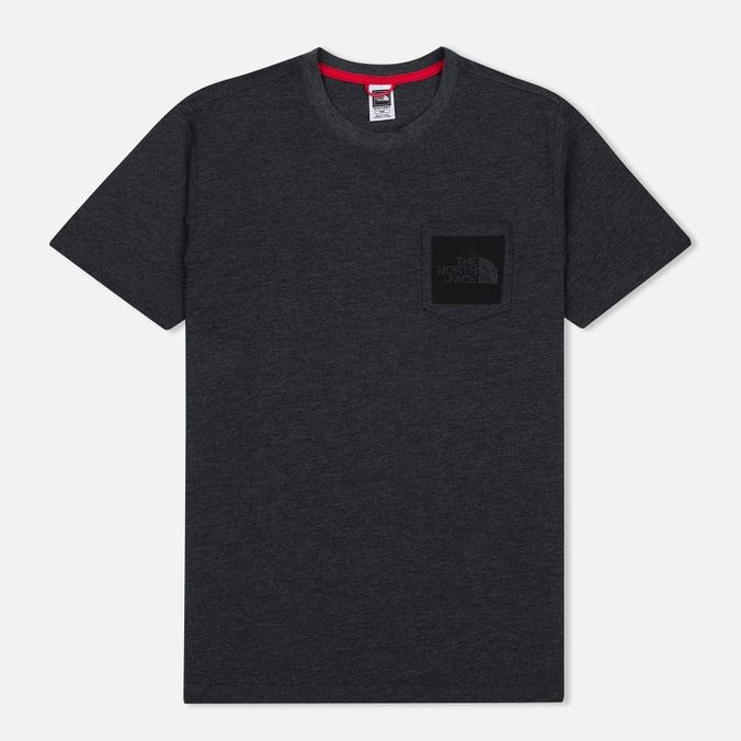 Мужская футболка The North Face Fine Pocket TNF Dark Grey Heather