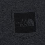 Мужская футболка The North Face Fine Pocket TNF Dark Grey Heather фото- 2
