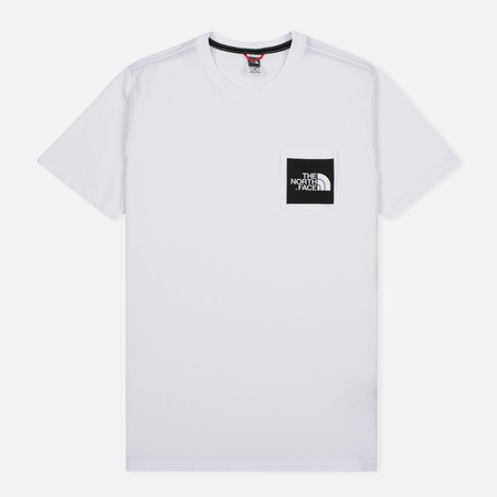 The North Face Fine Pocket TNF Men's T-Shirt White