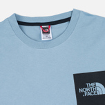 Мужская футболка The North Face Fine SS Faded Denim фото- 1