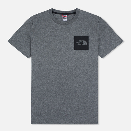 Мужская футболка The North Face Fine SS Grey Heather