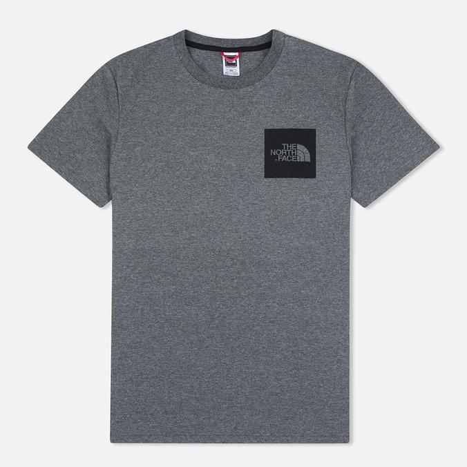 Мужская футболка The North Face Fine SS Grey Heather