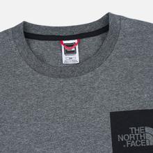 Мужская футболка The North Face Fine SS Grey Heather фото- 1