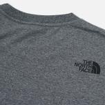 Мужская футболка The North Face Fine SS Grey Heather фото- 3