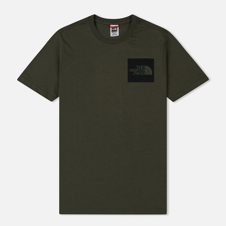 Мужская футболка The North Face Fine SS New Taupe Green