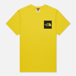 Мужская футболка The North Face Fine SS TNF Lemon