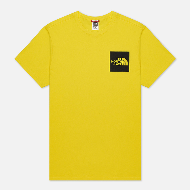 Мужская футболка The North Face Fine SS TNF Lemon