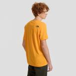 Мужская футболка The North Face Fine SS Zinna Orange фото- 3