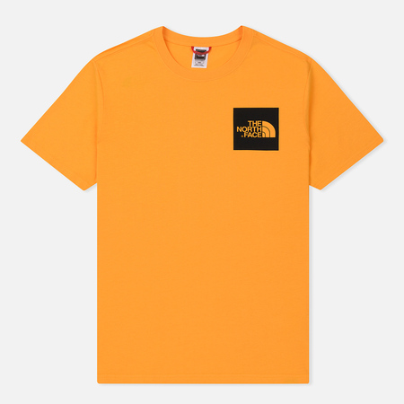 Мужская футболка The North Face Fine SS Zinna Orange
