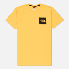 Мужская футболка The North Face L/S Fine TNF Yellow фото- 0